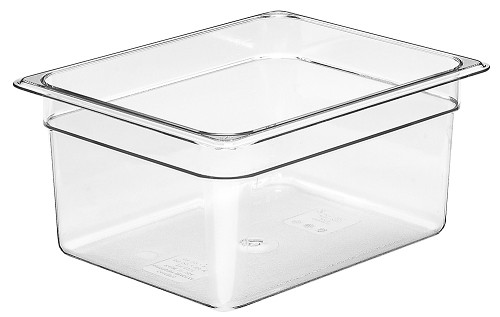 Half Size Polycarbonate Food Pan Clear 6