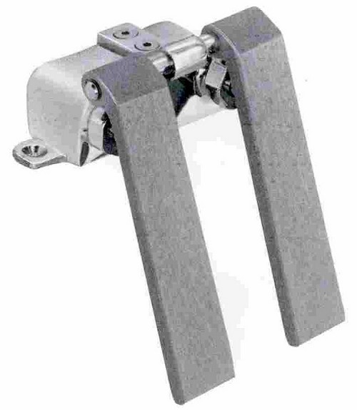 Fisher Double Pedal Knee Valve Polished Chrome