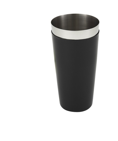 28oz Stainless Bar Shaker w/ PVC Coated Outside