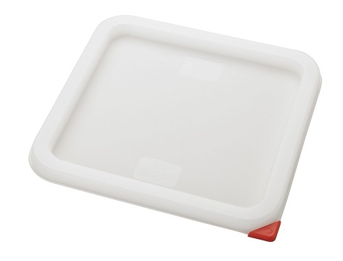 Cover for 6qt & 8qt Square food storage container White