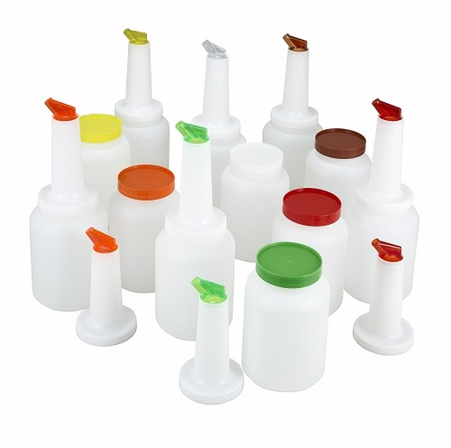 1 Quart assorted Juice pourer Kit