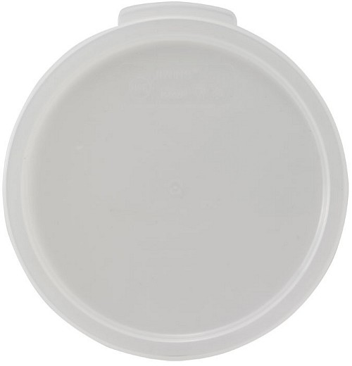 Round Food Storage Container Cover Fits 12, 18 & 22 quart