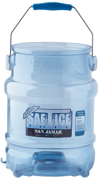 5 Gallon Saf-T-Ice Tote Ice Bucket