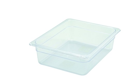 Half Size Polycarbonate Food Pan Clear 4