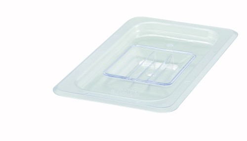 Quarter (1/4) Size Polycarbonate Food Pan Cover Solid