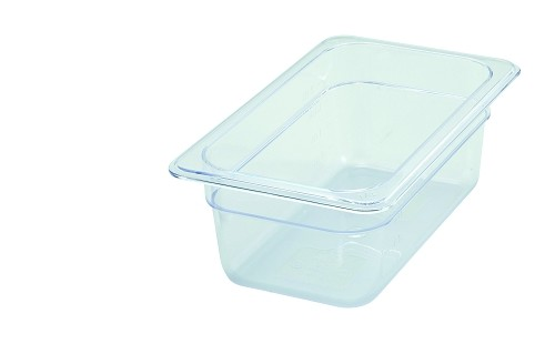 Fourth Size ( 1/4 ) Polycarbonate Food Pan Clear 4