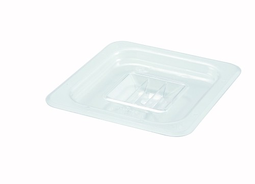 Sixth (1/6) Size Polycarbonate Food Pan Cover Solid
