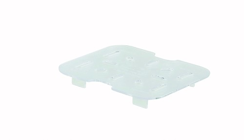 Sixth Size Polycarbonate Food Pan Drain Shelf