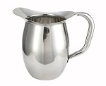2 Quart Stainless Bell Pitcher