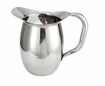 3 Quart Stainless Bell Pitcher w/ Ice guard